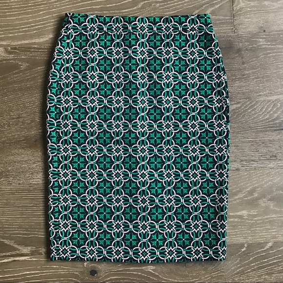 Clothing, Shoes & Accessories 2 Pencil Skirt Cotton Sz 6 Knee Length Polyester Lining Zipper J.crew Black No
